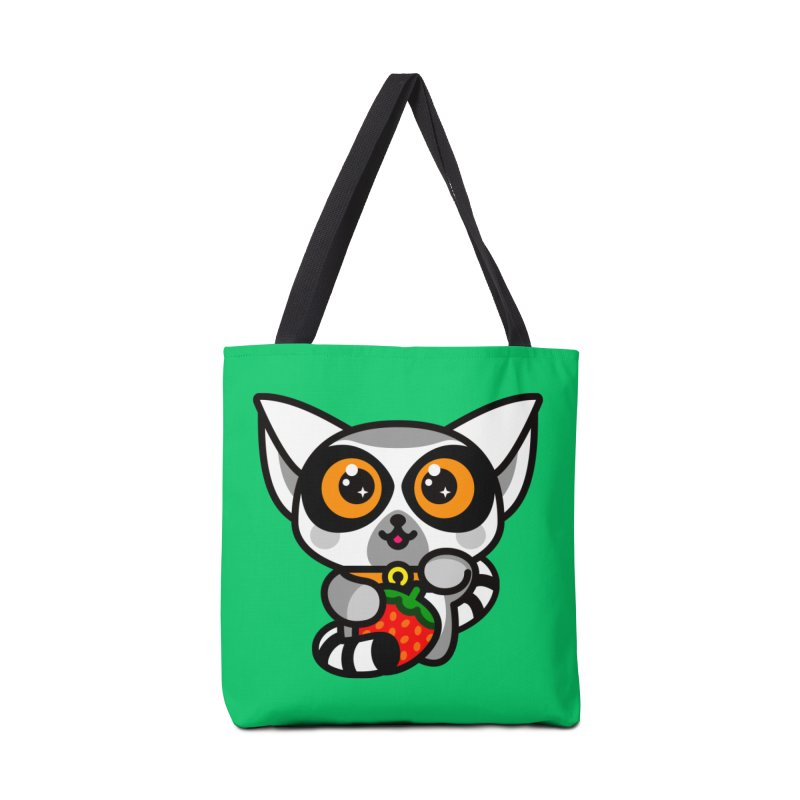 Lucky Lemur Accessories Tote Bag Bag by StudioDelme