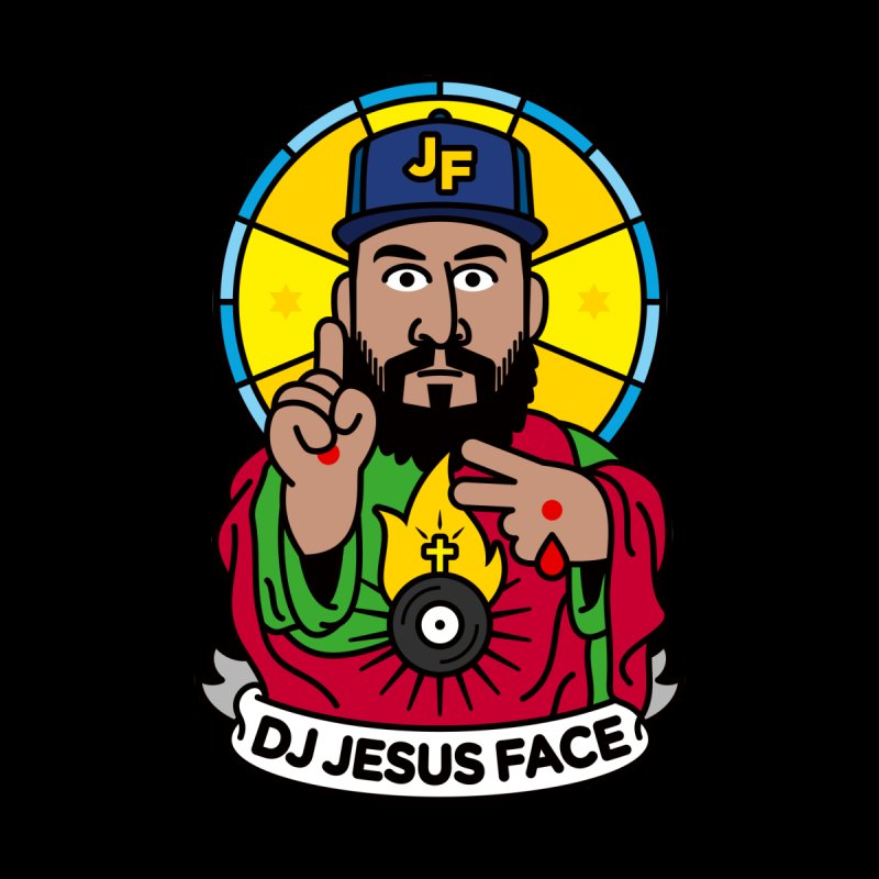 DJ Jesus Face Accessories Phone Case by SuperHappyMagic