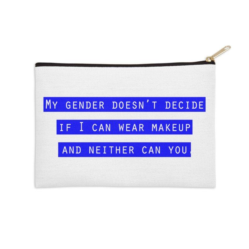Gender Bender Accessories Zip Pouch by Super Normal Shop