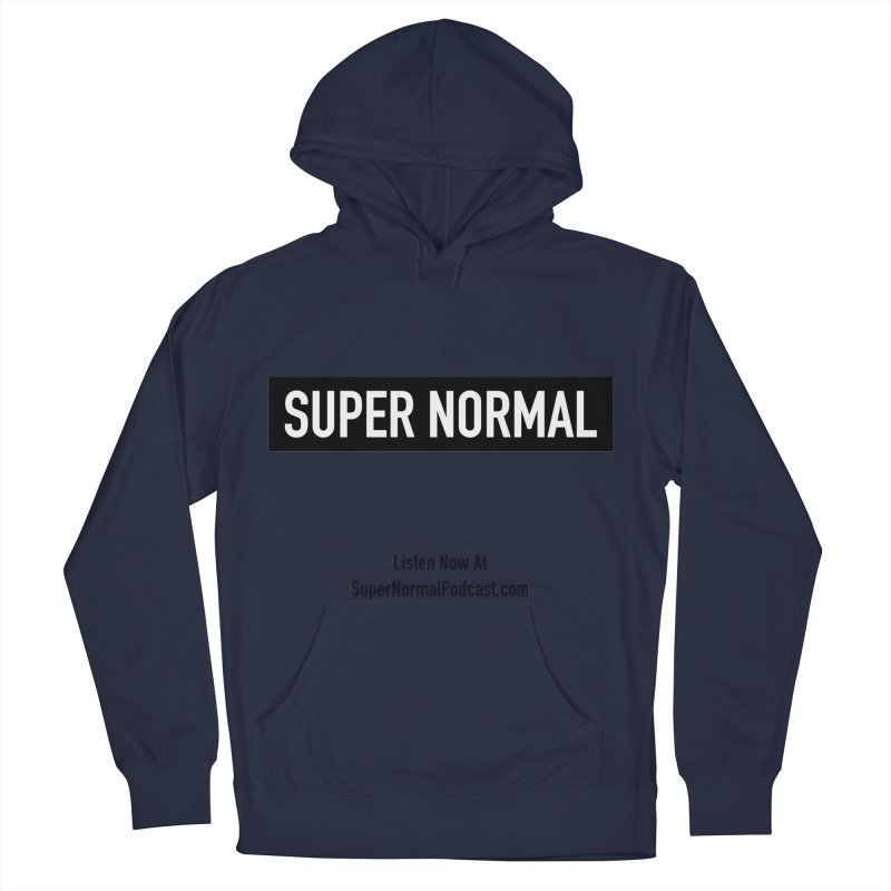 Super Normal Men's French Terry Pullover Hoody by Super Normal Shop
