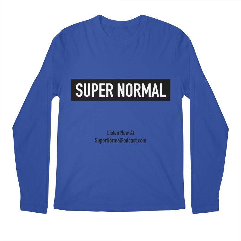 Super Normal Men's Regular Longsleeve T-Shirt by Super Normal Shop