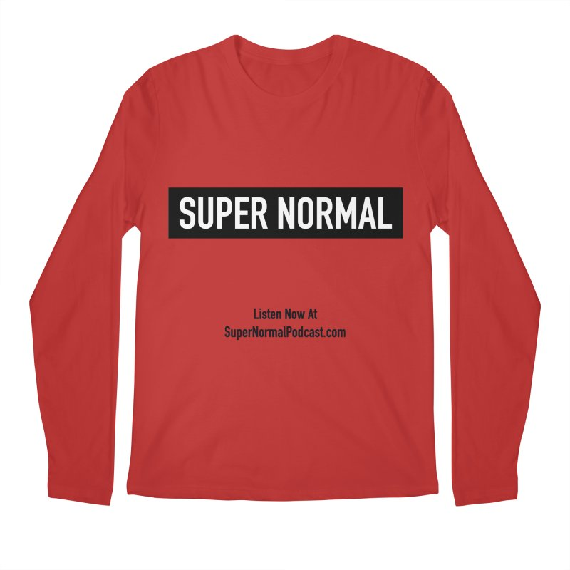 Super Normal Men's Regular Longsleeve T-Shirt by Super Normal Shop