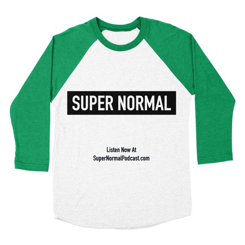 Super Normal Women's Baseball Triblend Longsleeve T-Shirt by Super Normal Shop