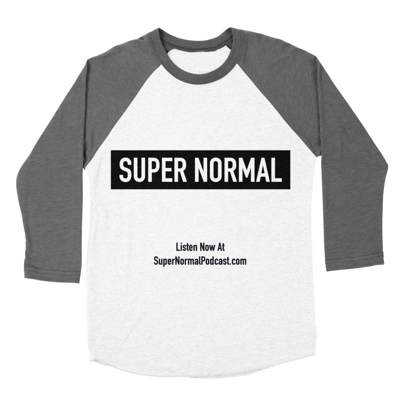 Super Normal Men's Baseball Triblend Longsleeve T-Shirt by Super Normal Shop