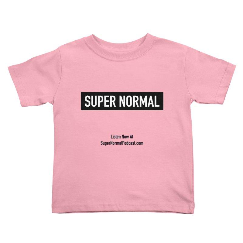 Super Normal Kids Toddler T-Shirt by Super Normal Shop