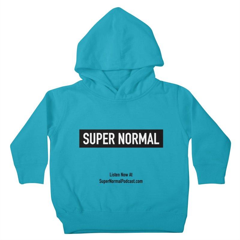 Super Normal Kids Toddler Pullover Hoody by Super Normal Shop
