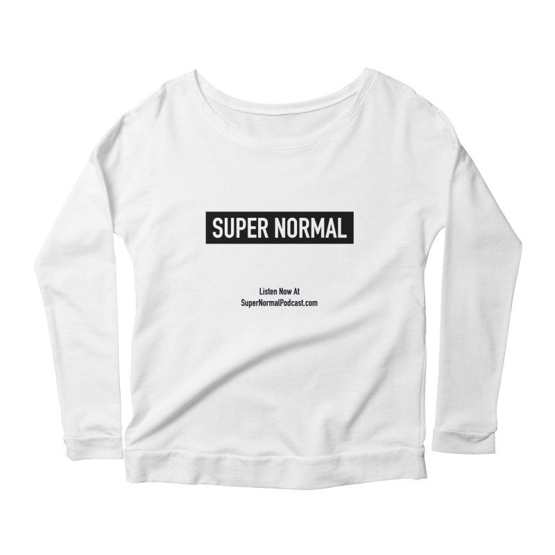 Super Normal Women's Scoop Neck Longsleeve T-Shirt by Super Normal Shop