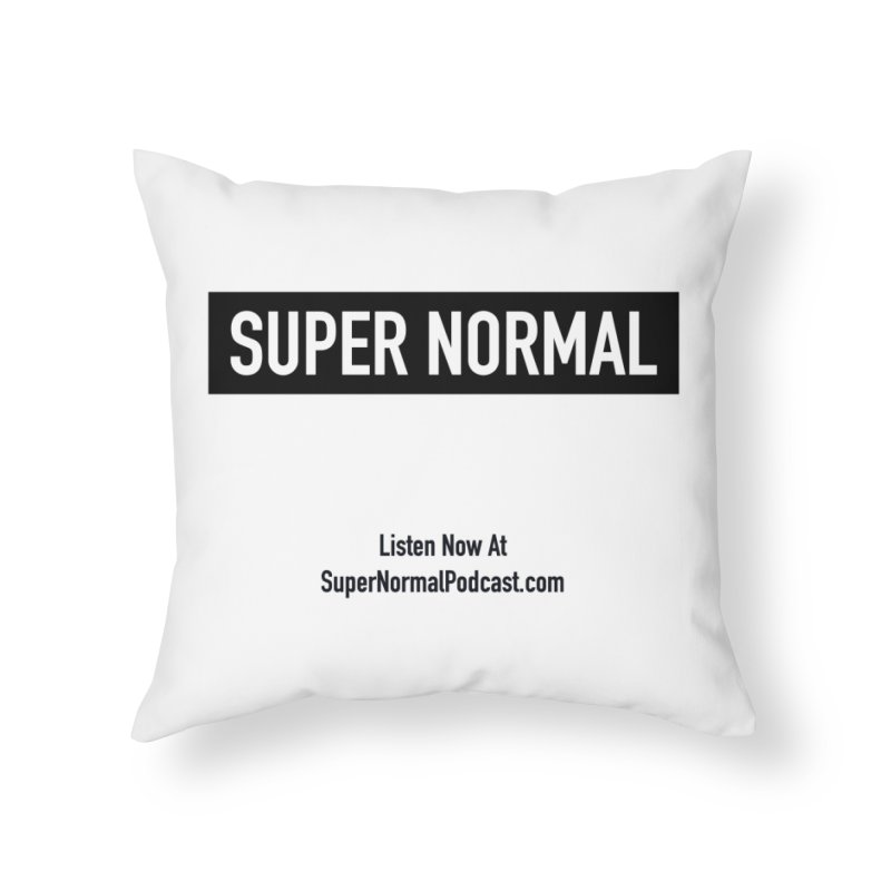 Super Normal Home Throw Pillow by Super Normal Shop