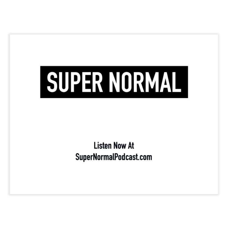 Super Normal Home Fine Art Print by Super Normal Shop