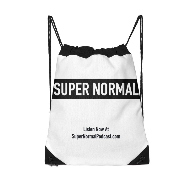 Super Normal Accessories Drawstring Bag Bag by Super Normal Shop