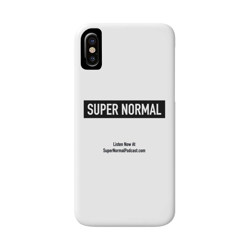 Super Normal Accessories Phone Case by Super Normal Shop