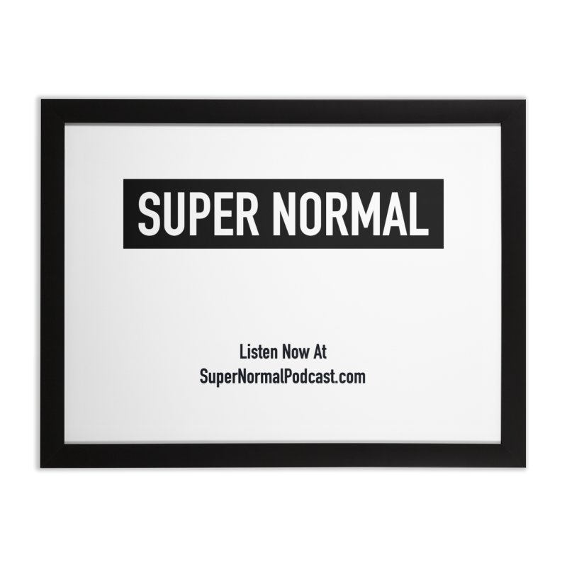 Super Normal Home Framed Fine Art Print by Super Normal Shop