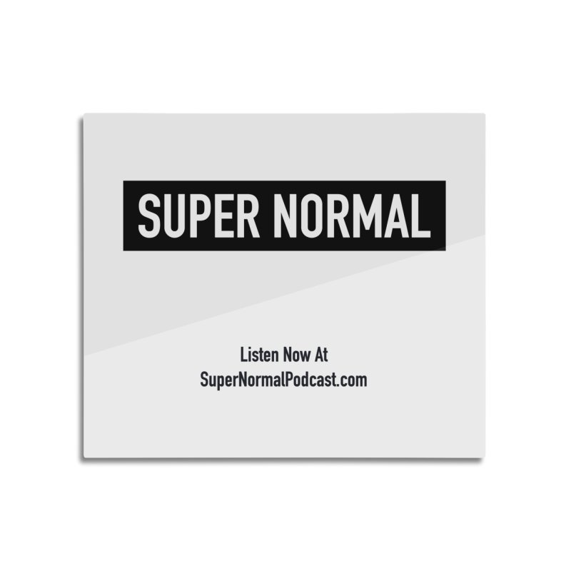 Super Normal Home Mounted Aluminum Print by Super Normal Shop