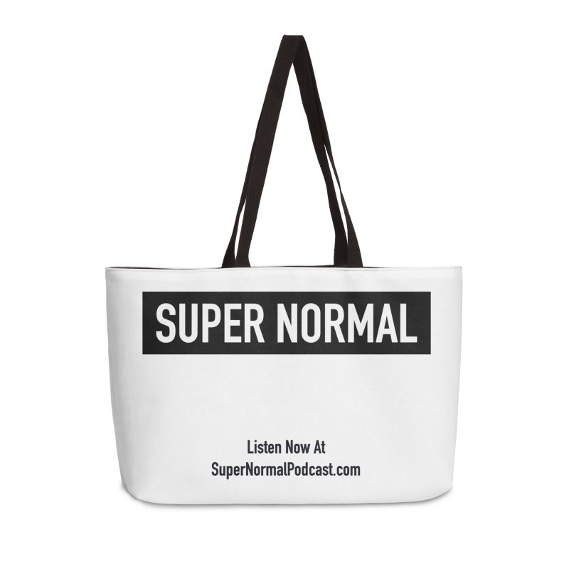 Super Normal Accessories Weekender Bag Bag by Super Normal Shop