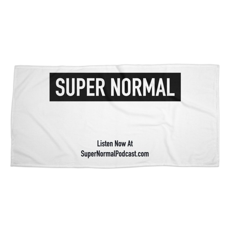 Super Normal Accessories Beach Towel by Super Normal Shop