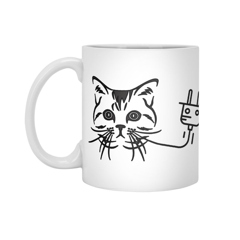 Pussy Power Accessories Standard Mug by Super Normal Shop