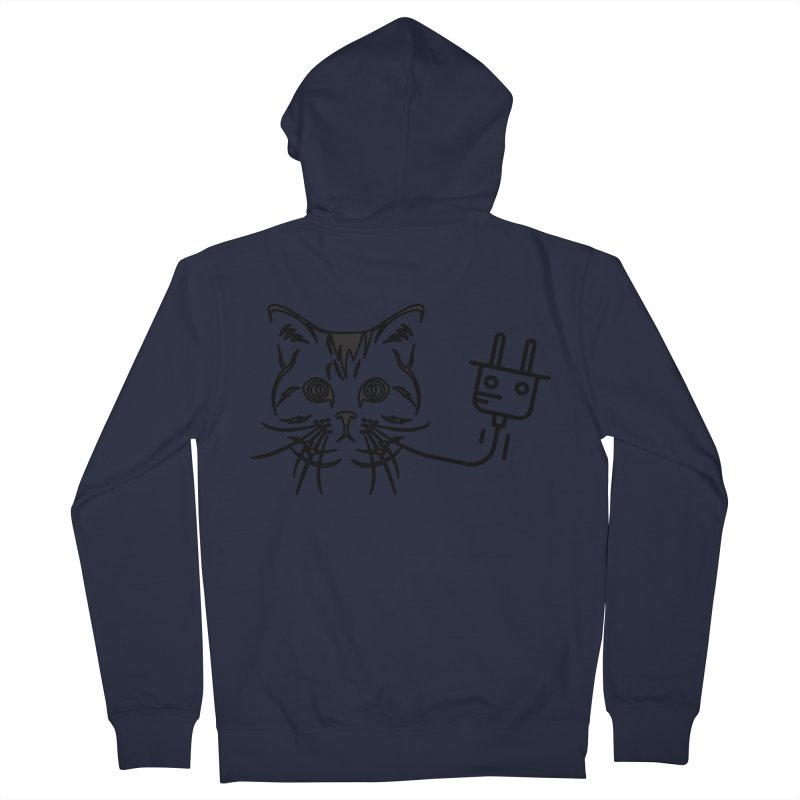 Pussy Power Women's Zip-Up Hoody by Super Normal Shop
