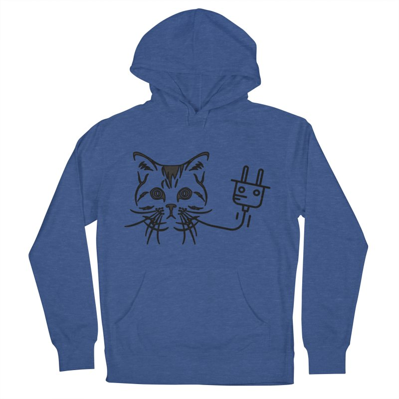 Pussy Power Women's French Terry Pullover Hoody by Super Normal Shop