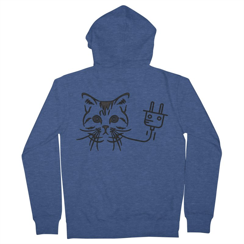Pussy Power Women's French Terry Zip-Up Hoody by Super Normal Shop