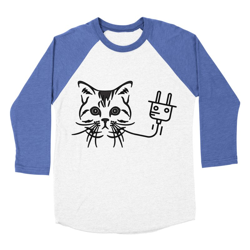 Pussy Power Women's Baseball Triblend Longsleeve T-Shirt by Super Normal Shop