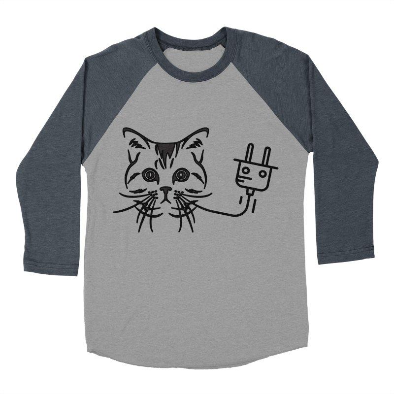 Pussy Power Women's Baseball Triblend Longsleeve T-Shirt by Super Normal Shop