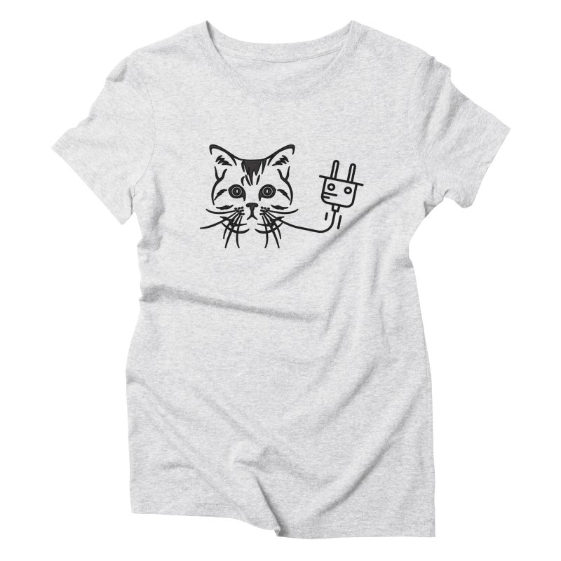 Pussy Power Women's Triblend T-Shirt by Super Normal Shop