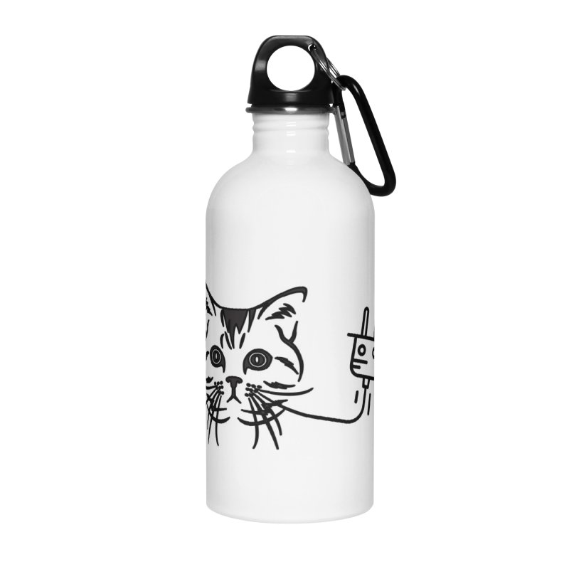 Pussy Power Accessories Water Bottle by Super Normal Shop