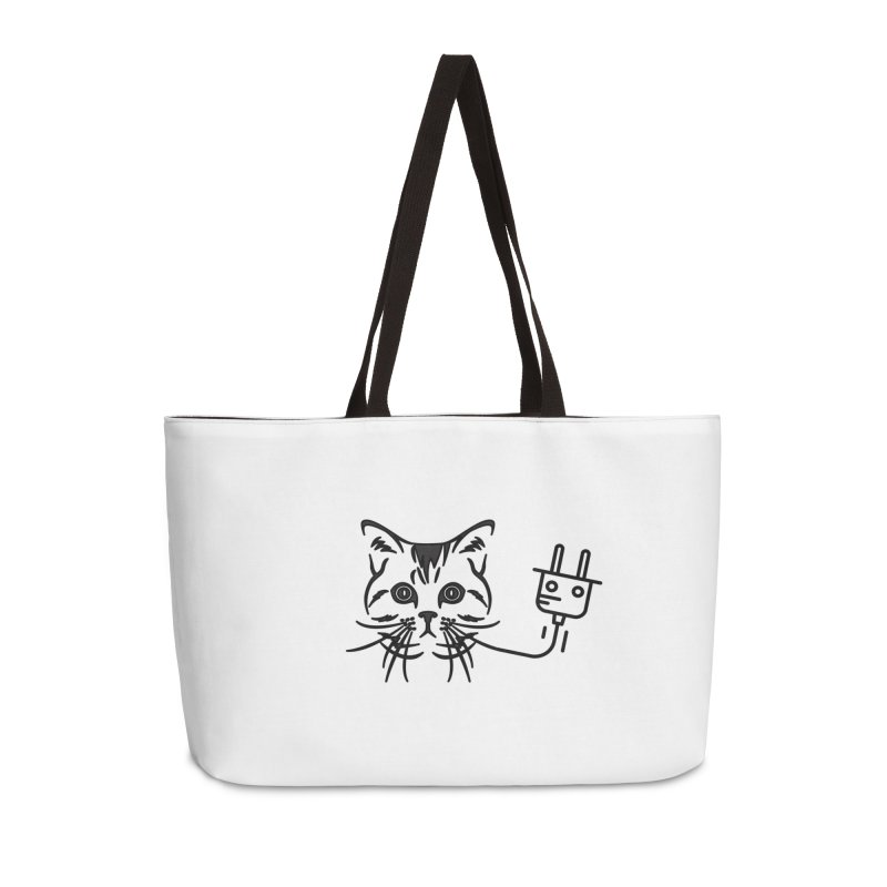 Pussy Power Accessories Weekender Bag Bag by Super Normal Shop