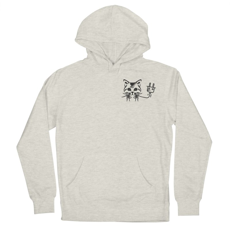Low Key Pussy Power Women's French Terry Pullover Hoody by Super Normal Shop