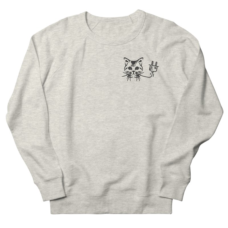 Low Key Pussy Power Women's French Terry Sweatshirt by Super Normal Shop