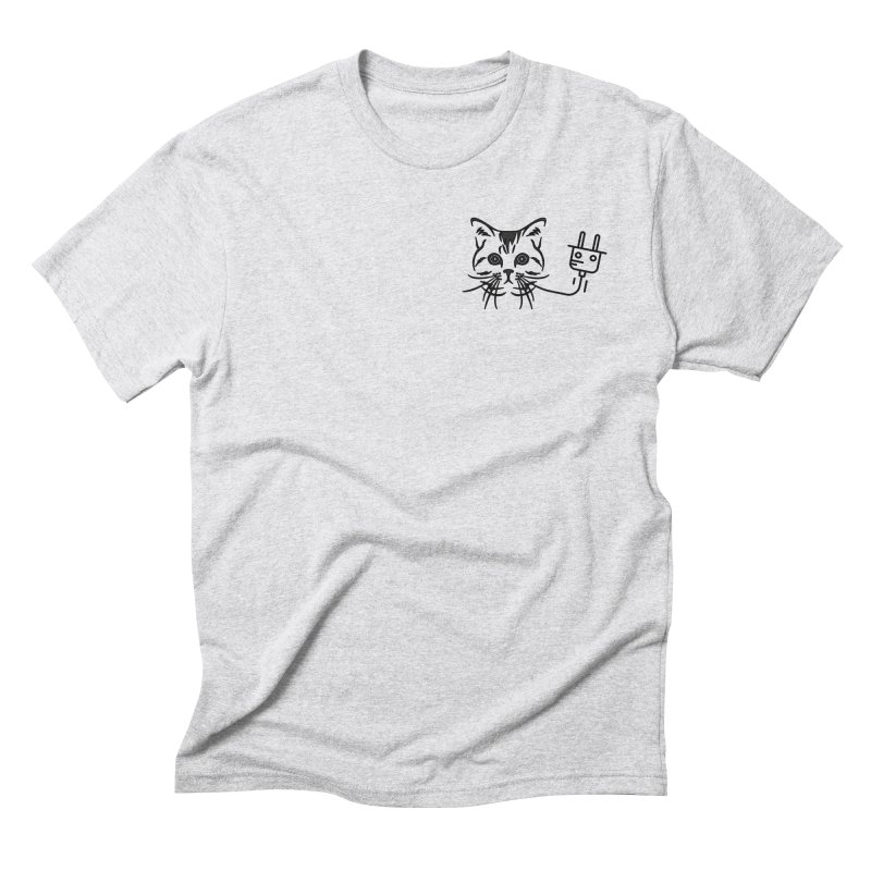Low Key Pussy Power Men's Triblend T-Shirt by Super Normal Shop