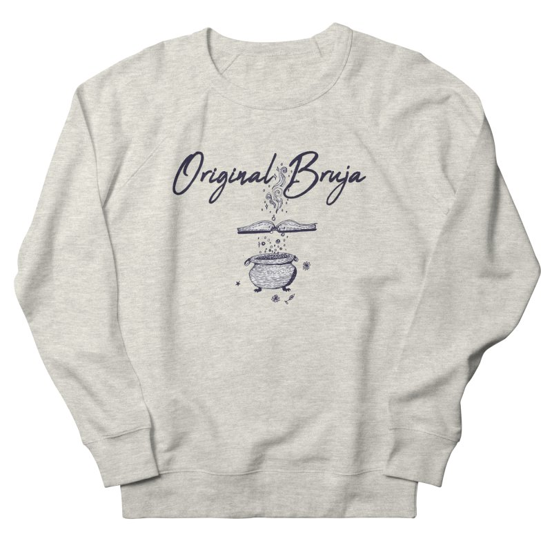 Original Bruja Women's French Terry Sweatshirt by Super Normal Shop
