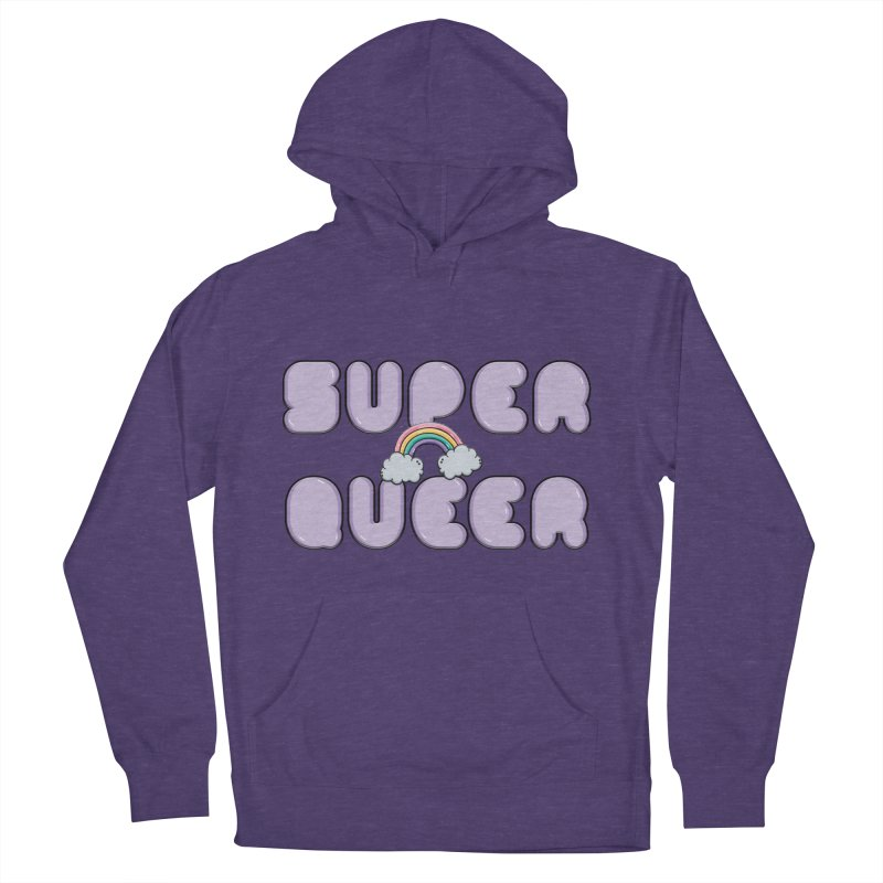 Super Queer Men's French Terry Pullover Hoody by Super Normal Shop