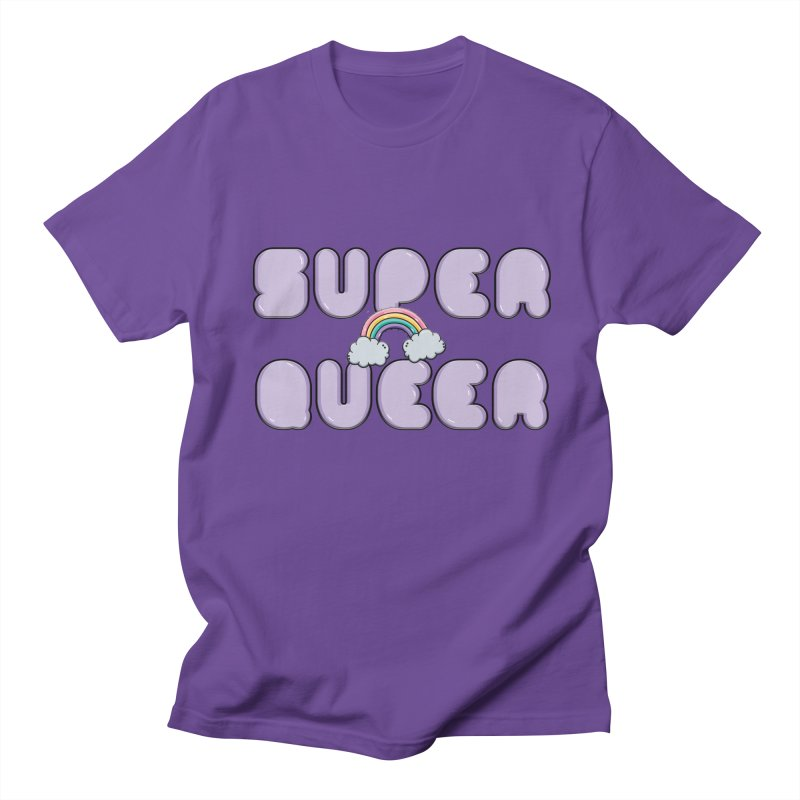 Super Queer Women's Regular Unisex T-Shirt by Super Normal Shop