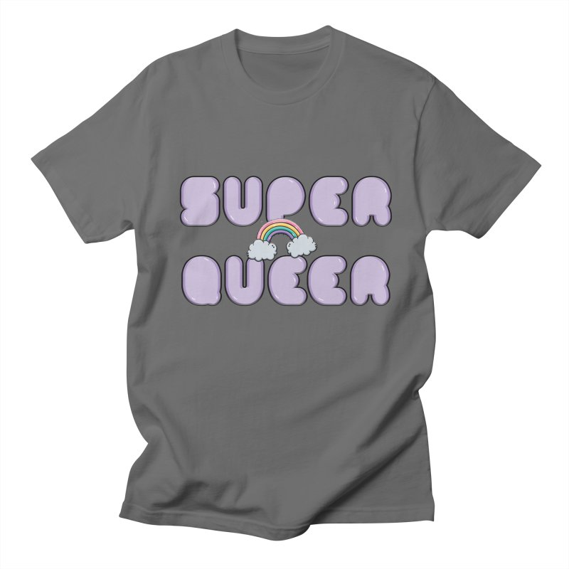 Super Queer Men's T-Shirt by Smokedsamman
