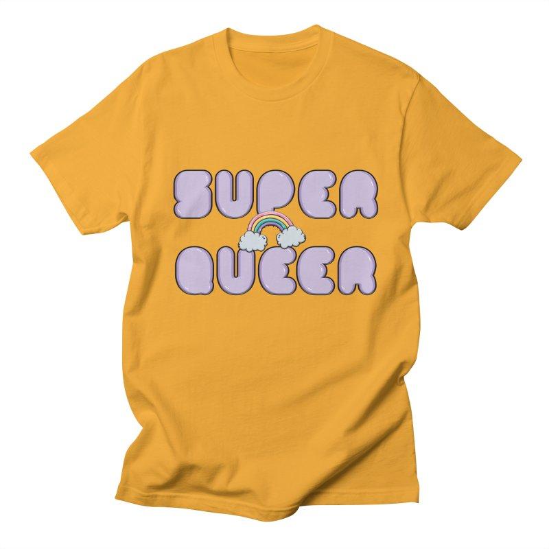 Super Queer Men's Regular T-Shirt by Super Normal Shop