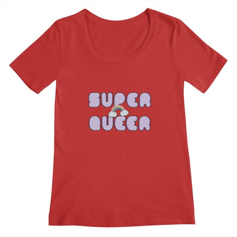 Super Queer Women's Regular Scoop Neck by Super Normal Shop
