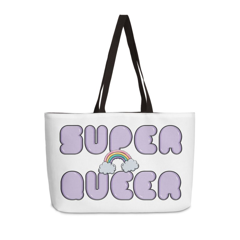 Super Queer Accessories Weekender Bag Bag by Super Normal Shop