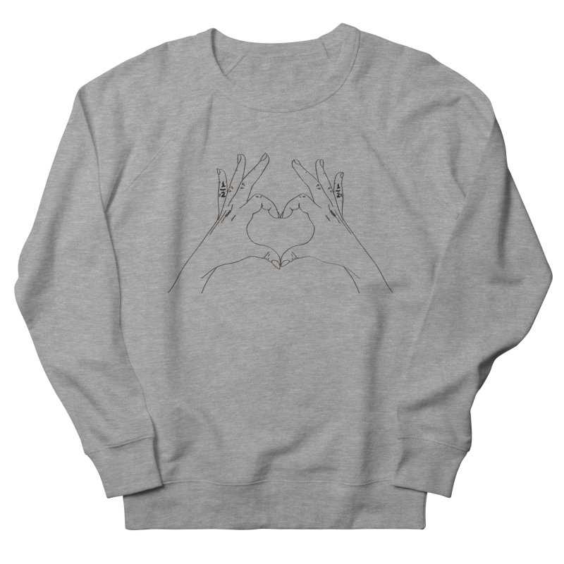 Best Frans Pinky Tatts Women's French Terry Sweatshirt by Super Normal Shop