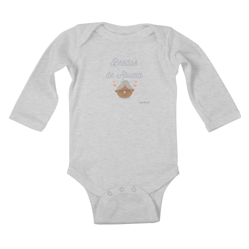 Besitos de Abuela Kids Baby Longsleeve Bodysuit by Super Normal Shop