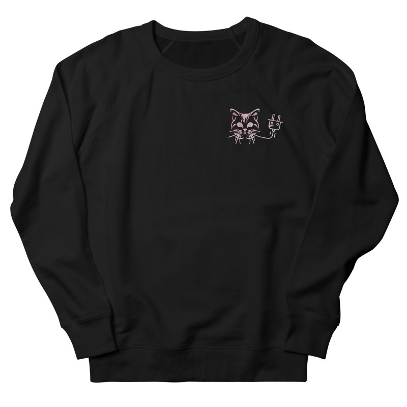 Low Key Pu$$y Power Women's French Terry Sweatshirt by Super Normal Shop