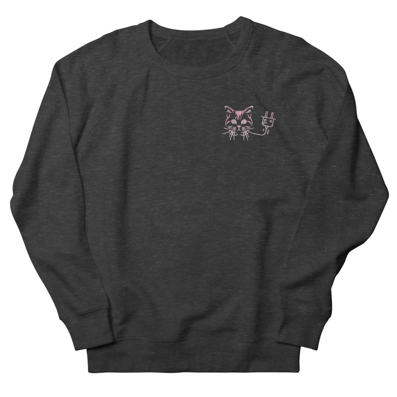 Low Key Pu$$y Power Men's French Terry Sweatshirt by Super Normal Shop