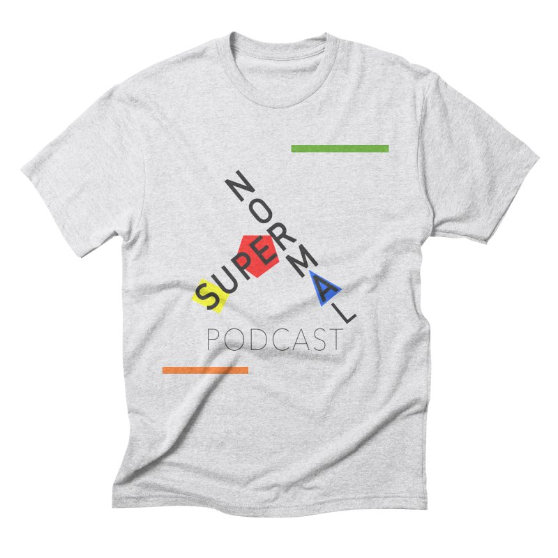 Mod Normal Men's Triblend T-Shirt by Super Normal Shop