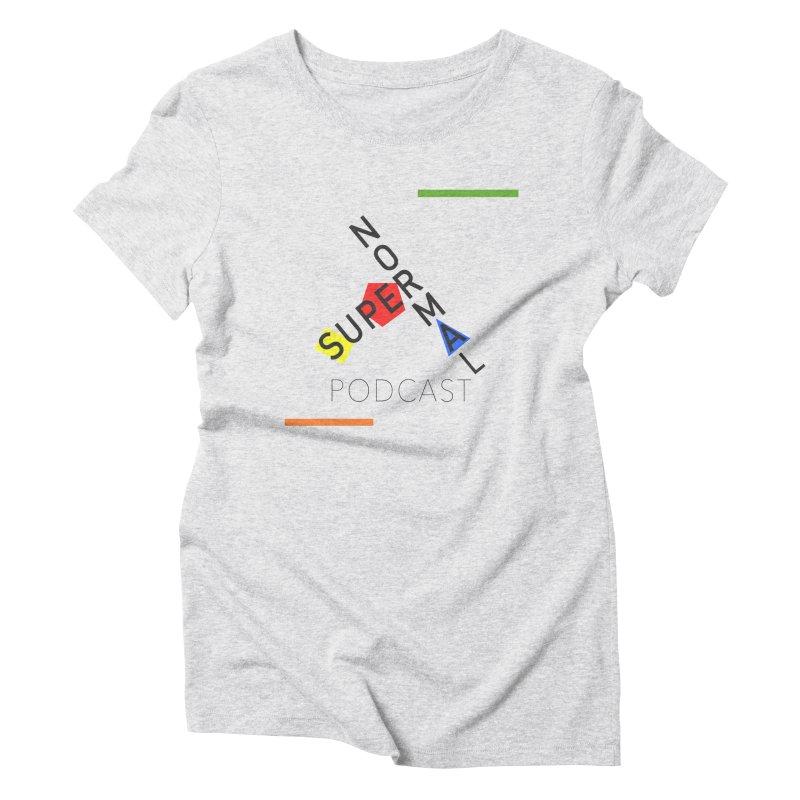 Mod Normal Women's Triblend T-Shirt by Super Normal Shop