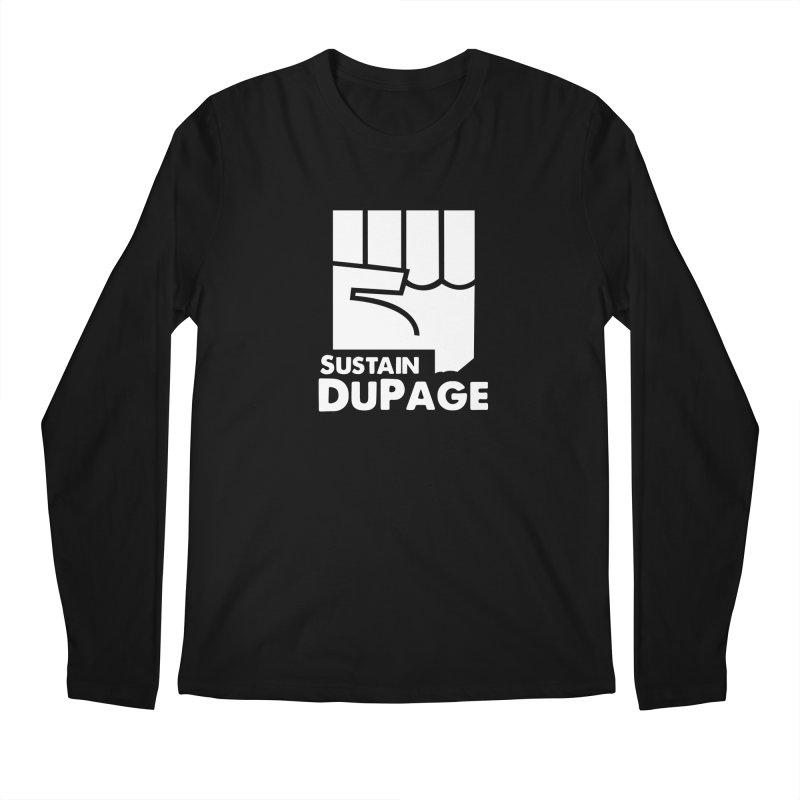 Sustain DuPage Long Sleeve in Men's Longsleeve T-Shirt Black by Sustain DuPage's Artist Shop