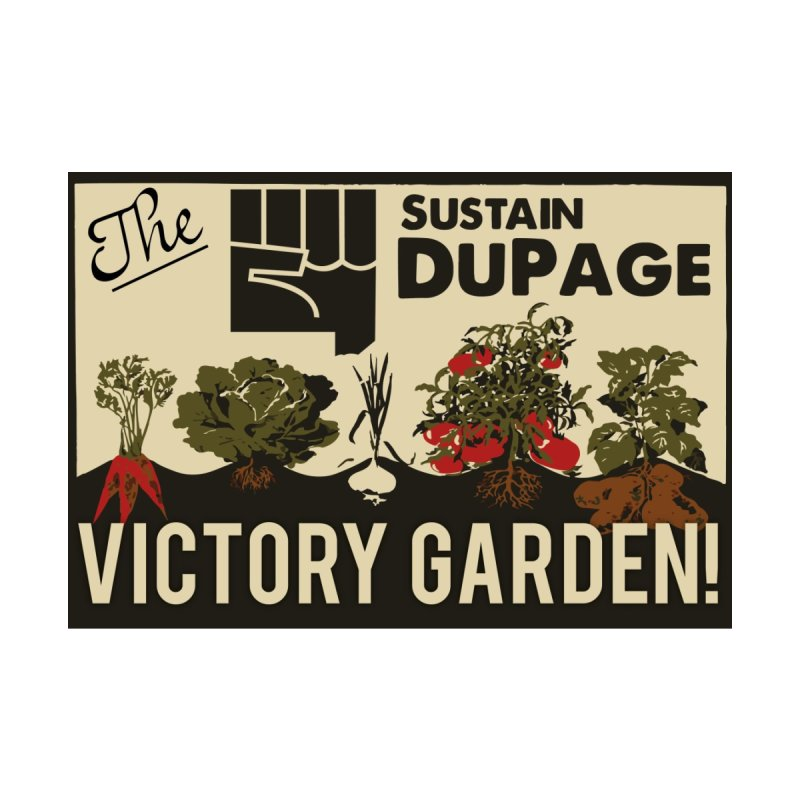 Victory Garden T Men's T-shirt by Sustain DuPage's Artist Shop