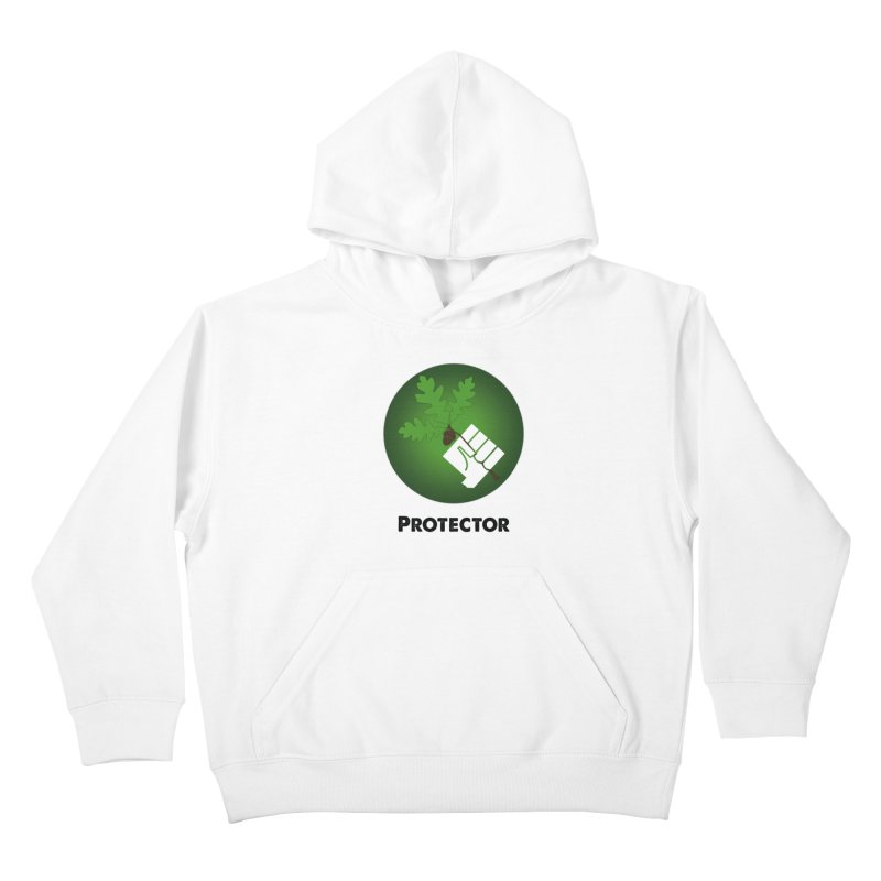 Protector Kids Pullover Hoody by Sustain DuPage's Artist Shop