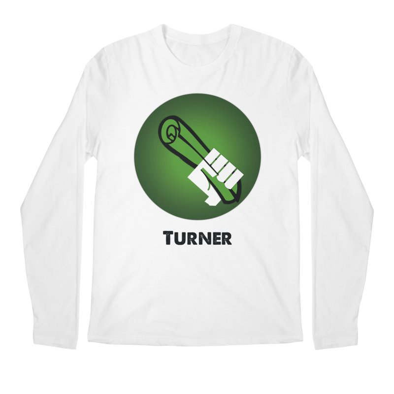 Turner in Men's Longsleeve T-Shirt White by Sustain DuPage's Artist Shop