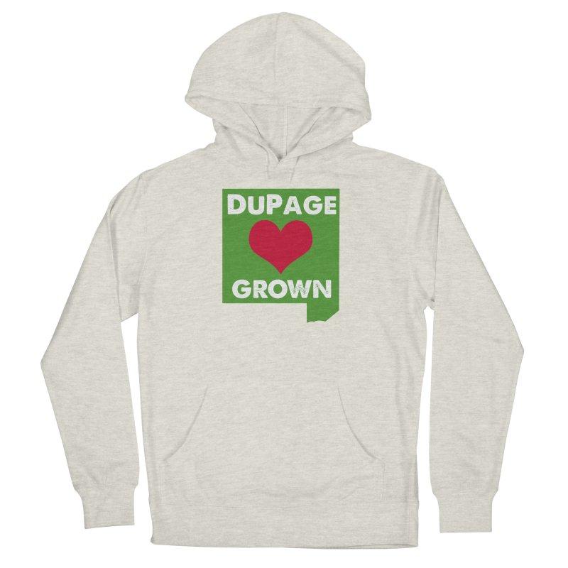DuPageGrown in Women's Pullover Hoody Heather Oatmeal by Sustain DuPage's Artist Shop