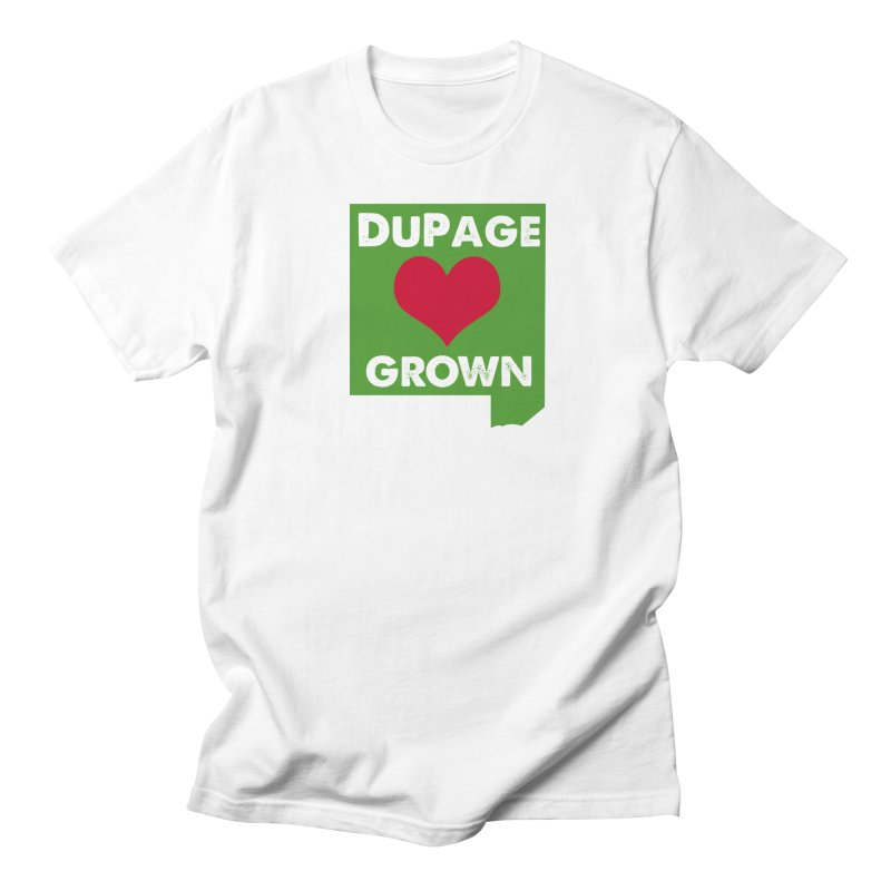 DuPageGrown Men's Regular T-Shirt by Sustain DuPage's Artist Shop